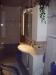 Waschtischanlage mit Unterschrank und Spiegelschrank